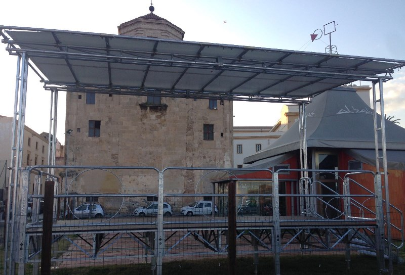 Inaugurazione dell'Open Theater ad Al Bab